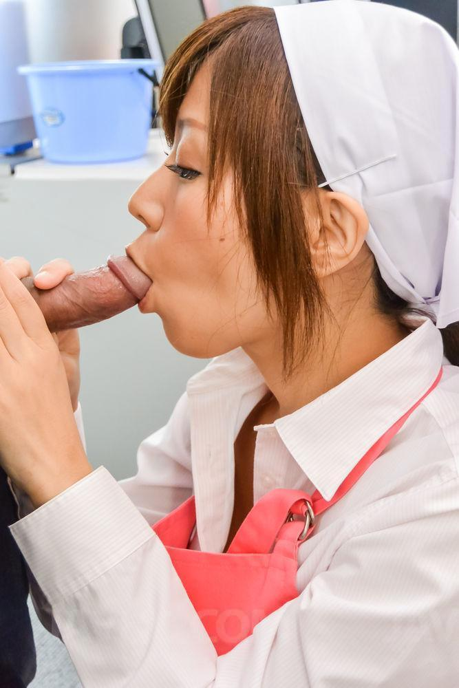 Jav HD 'amazes with her Asian blow job ' starring Chihiro Akino (Photo 1)