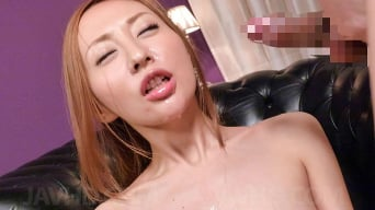 Erena Aihara in 'gets  japanese bukkake facials after toy sex'