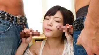 Megumi Shino in 'with wet nooky sucks stiffy'