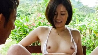 Minami Asano in 'fucked in rough outdoor session '