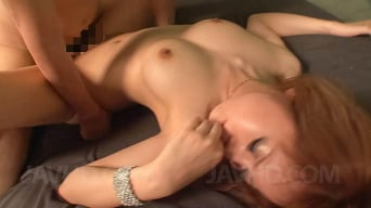 Rui Shiina in 'Gorgeous redhead Asian hottie getting naked, fondled and fucked'