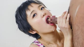 Sakura Aida in 'opens her mouth for two japanese blowjobs'