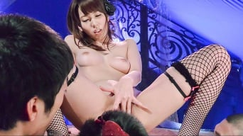 Yui Hatano in 'Mind blowing Japanese fuck with slim Yui Hatano'